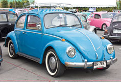 Volkswagen Beetle Retro Vintage Car. Stock Photo