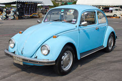 Volkswagen Beetle Retro Vintage Car. Royalty Free Stock Photography
