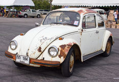Volkswagen Beetle Retro Vintage Car. Stock Images