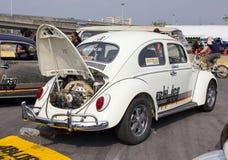 Volkswagen Beetle Retro Vintage Car. Royalty Free Stock Photo
