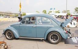Volkswagen Beetle Retro Vintage Car. Royalty Free Stock Image