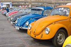 Volkswagen Beetle Retro Vintage Car. Stock Photo