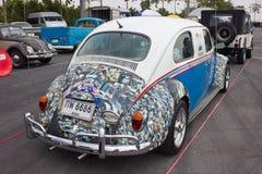 Volkswagen Beetle Retro Vintage Car. Royalty Free Stock Photography