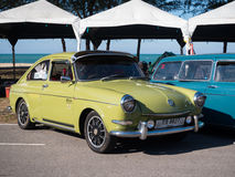 Volkswagen Karmann Ghia Royalty Free Stock Image