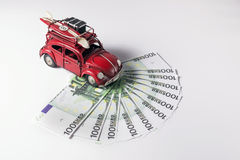 Volkswagen beetle toy car Stock Image