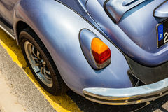 Volkswagen Beetle or Volkswagen Type 1. KUALA LUMPUR, MALAYSIA - AUGUST 03: Volkswagen Beetle parked on the street of Kuala Lumpur on August 03, 2016 in Kuala Stock Images