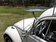 Volkswagen Beetle 1300 with the windshield open, Lima Stock Photo