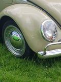 Volkswagen Bettle motorcar. Front corner of a 1970& x27;s Volkswagen Bettle car stock photo