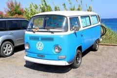 Volkswagen biltransport Arkivfoton