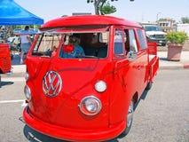 Volkswagen-Bus Stock Afbeelding