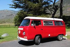 Volkswagen-Bus Royalty-vrije Stock Afbeelding