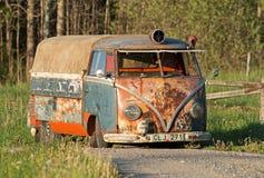 Volkswagen-Bus Lizenzfreies Stockbild