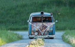 Volkswagen-Bus Stockbild
