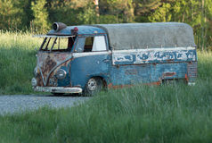 Volkswagen bus Royalty Free Stock Images