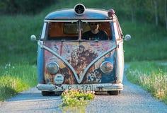 Volkswagen bus Stock Photos
