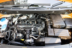 Volkswagen CADDY 2014 Engine Royalty Free Stock Photography