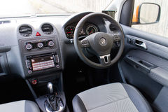 Volkswagen CADDY 2014 Interior Royalty Free Stock Images