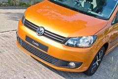 Volkswagen CADDY 2014 Test Drive Stock Photo