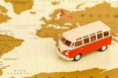 Volkswagen Camper toy Royalty Free Stock Image