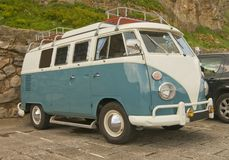 Volkswagen Camper Van. Royalty Free Stock Photography