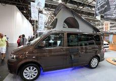 Volkswagen camper van Royalty Free Stock Photos
