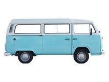 Volkswagen campervan. BERLIN, GERMANY - CIRCA JUNE 2015: Vintage Volkswagen Type 2 campervan made in Germany since 1957 stock photo