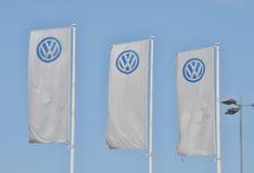 Volkswagen car store Stock Image