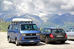 Volkswagen Caravelle Royalty Free Stock Images