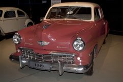 Stubaker car - 1949 Manufacture. This stubaker car was build in 1949 by Volkswagen. This car still has its original color with a vinel top.It has its original stock image