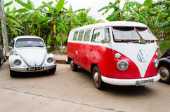 Volkswagen classic car Royalty Free Stock Photos
