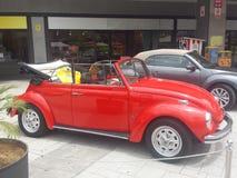 Volkswagen Coccinelle vieux Photos stock