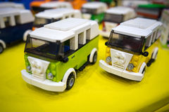 Volkswagen combi lego Royalty Free Stock Images