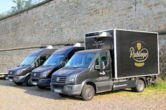 Volkswagen Crafter Royalty Free Stock Photography