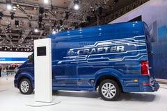 Volkswagen Crafter Electric Van Royalty Free Stock Photos