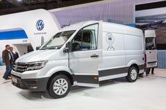 Volkswagen Crafter Van Obrazy Royalty Free