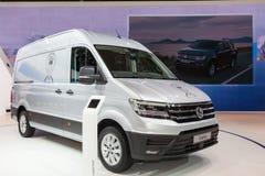 Volkswagen Crafter Van Stock Photography