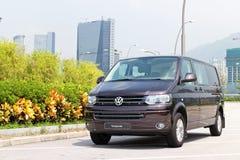 Volkswagen-de aandrijving van de Vervoer 2014 test Royalty-vrije Stock Afbeeldingen