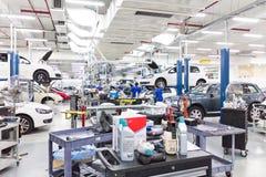 Volkswagen-de Dienstcentrum Royalty-vrije Stock Afbeeldingen