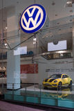 Volkswagen dealership on Friedrichstrasse Royalty Free Stock Images