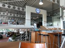 Volkswagen dealership Stock Photo