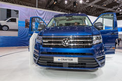 Volkswagen e-CRAFTER Stock Image