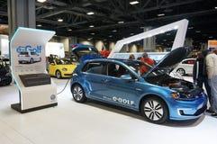 Volkswagen E golf Royaltyfri Bild