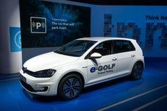 Volkswagen-e-golf Stock Afbeelding