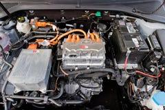 Volkswagen e-golf 2017 motor Arkivfoto