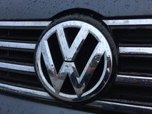 Volkswagen emblem Stock Photos