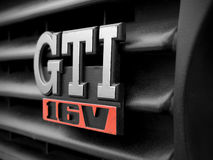 Volkswagen emblem GTI. For mark 2 Royalty Free Stock Images
