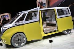Volkswagen en la exhibición en el salón del automóvil internacional norteamericano 2017 Fotos de archivo