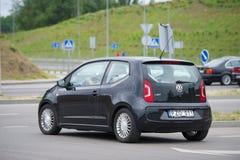 Volkswagen encima del coche Fotos de archivo