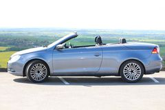 A Volkswagen Eos convertable. A Volkswagen Eos parked up Stock Photos