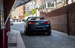 Volkswagen EOS in the daytime on the street Stock Image